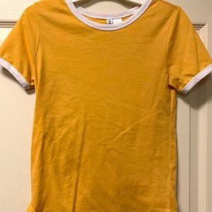 H&M Yellow Shirt